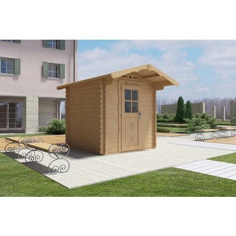 Casetta in legno 2x2 Rustica
