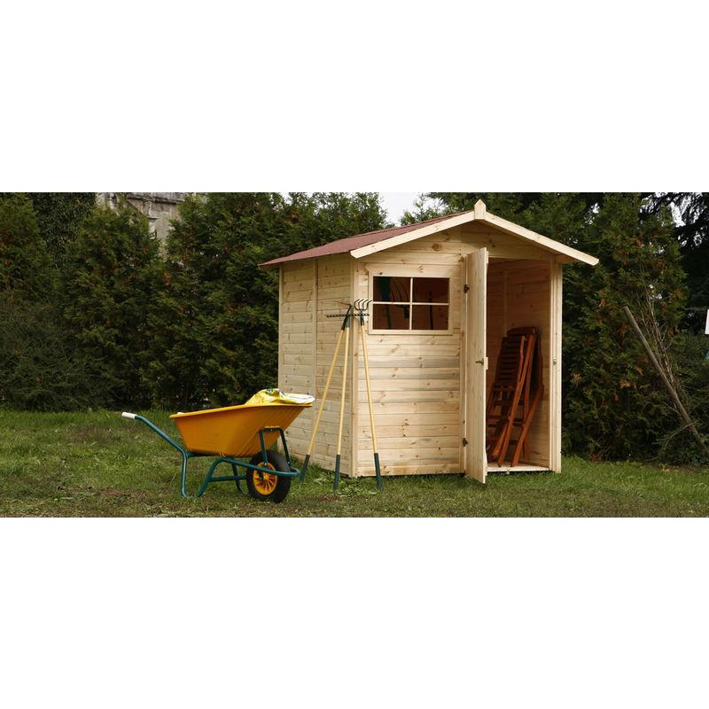 Casetta in legno da giardino per ricovero attrezzi for Casetta di legno da giardino