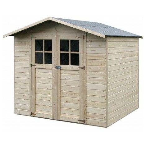 Casetta in legno Lode 12 mm di spessore, 212x182 cm, 3,86m²