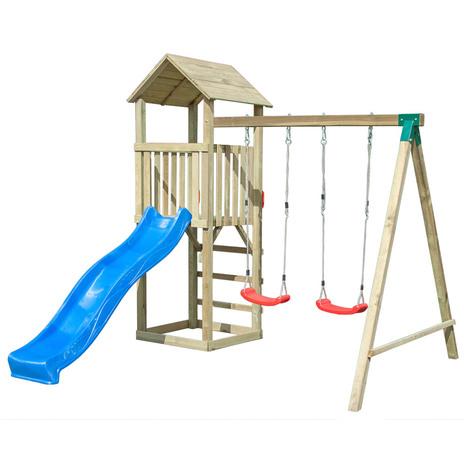 Giochi esterno bambini legno for Casetta giardino bambini usata