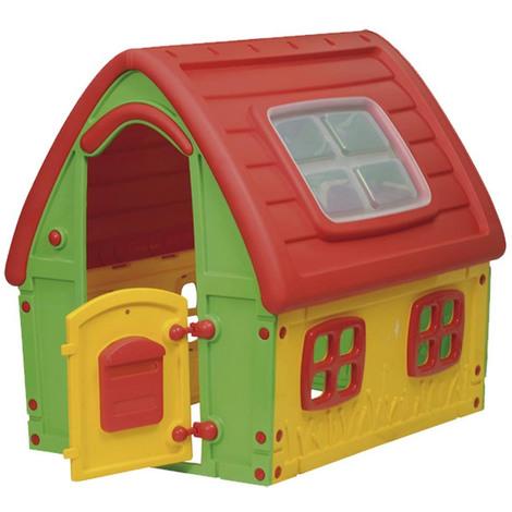 Casetta per bambini da giardino in plastica arredo esterno for Casetta giardino bambini usata