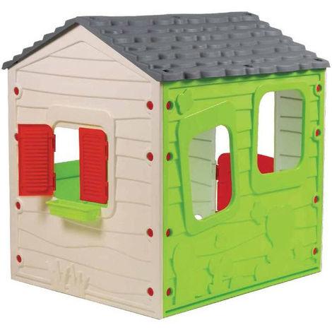 Casetta In Plastica Per Giardino.Casetta Con Finestre Al Miglior Prezzo