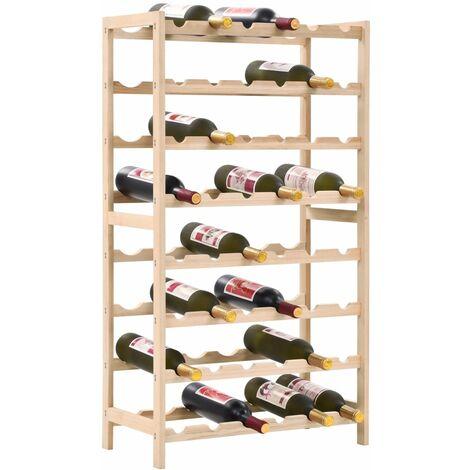 Casier à bouteilles Bois de cèdre 57,5 x 28 x 102 cm2435-A