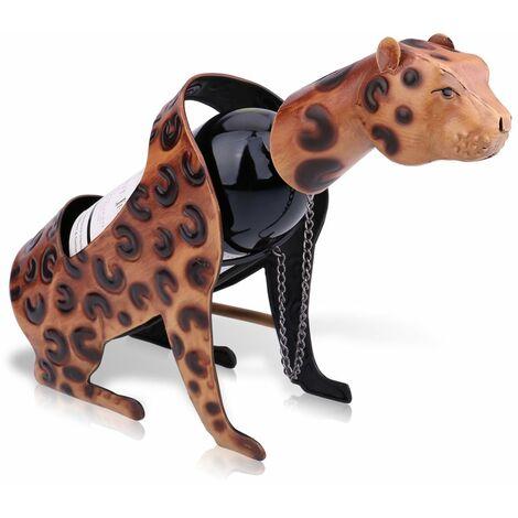 Casier avin leopard casier avin leopard Sculptures en metal Sculptures pratiques ameublement decoration interieure artisanat