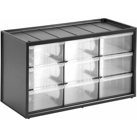 Casier de Rangement - 9 Compartiments - 36,5 x 15,5 x 21,3 cm - STANLEY, 1-93-978