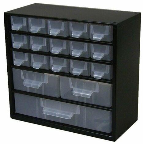 Casier metal 18 tiroirs etseparateurs et etiquettes 306x155x2 82