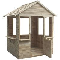 Casita de madera infantil Adele Outdoor Toys 120x108x138 cm - KNH1021