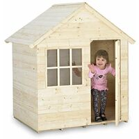 Casita Infantil de Madera Outdoor Toys HideAway House - KTP348
