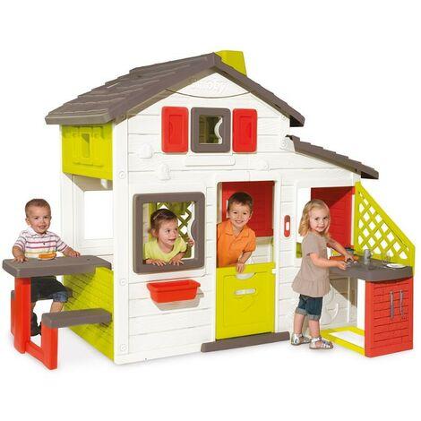 Casita Infantil Friends House + Cocina