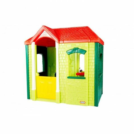 Casita Infantil Little Tikes Garden Cottage Evergreen - KLT04255