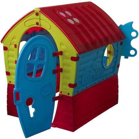 Casita infantil Maison des rêves - 0,95 x 0,90 x 1,10 m