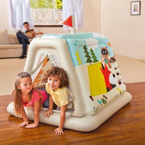 Casita tienda hinchable para niños Intex 48634 casa jardín