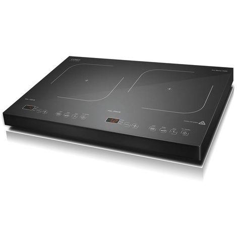 Caso Plaque à induction avec écran tactile - 2 feux