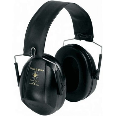Casque 3M Peltor Bull's Eye I Noir - noir
