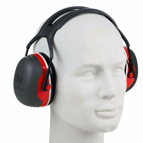Casque anti-bruit 3M Peltor X3 avec fixation sur casque W51499