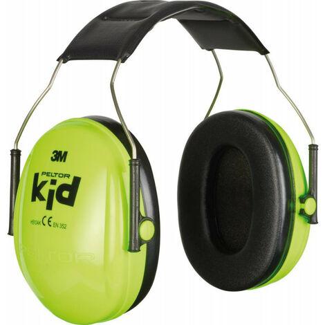 Casque anti-bruit Peltor pour enfants - vert