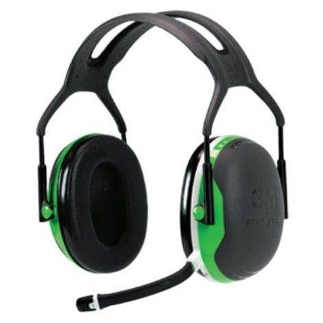 Casque Anti bruit Peltor X1 bluetooth - Vert