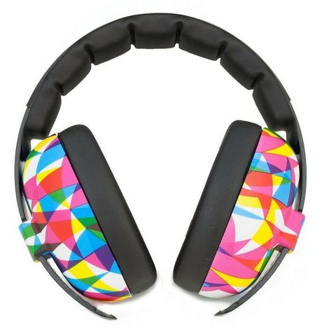 Casque Anti-Bruit pour Enfant Banz Earmuffs, Multicolore - Multicolore