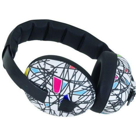 Casque Anti-Bruit pour Enfant Banz Earmuffs, Strié - Multicolore