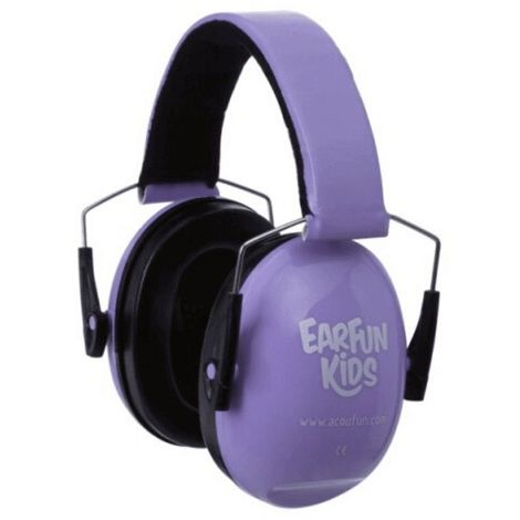 Casque Anti Bruit pour Enfants Acoufun EARFUN Kids, Violet - violet