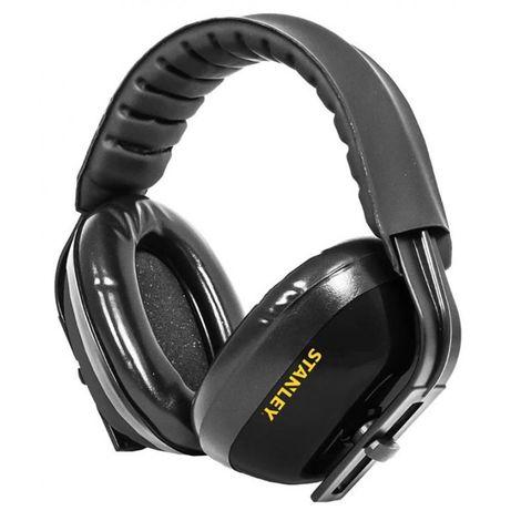 Casque Stanley anti-bruit reglable 26db Noir