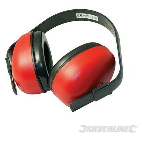 Casque anti-bruit SNR 27 dB, H30 dB, M25 dB, L18 dB