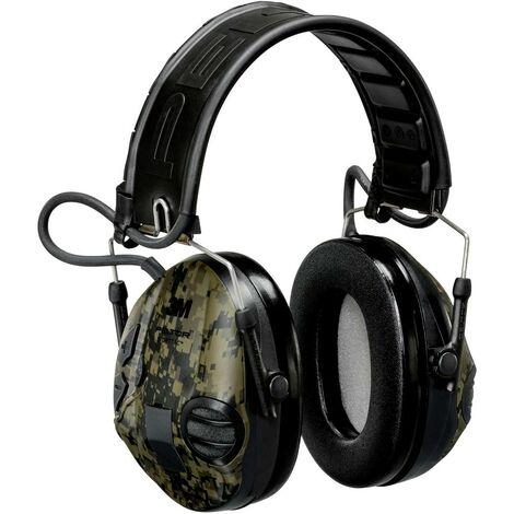 Casque Antibruit Audio 3m Peltor Mt16h210f 478gn945 Vert 1 Pcs