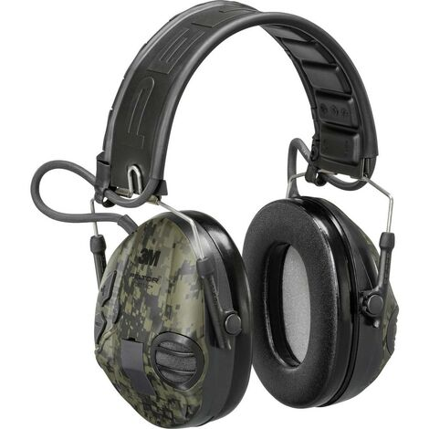 Casque antibruit audio 3M Peltor SportTac MT16H210F-478GN945 26 dB 1 pc(s)