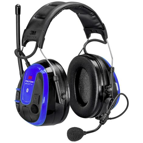 Casque antibruit audio 3M Peltor WS ALERT XPI MRX21A3WS6-ACK 35 dB 1 pc(s)
