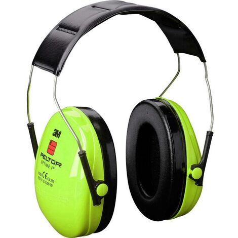 Casque antibruit passif 27 dB 3M Peltor Optime I Hi-Viz H510AV 1 pc(s)