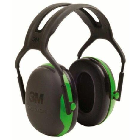 Casque antibruit passif 3M Peltor X1P3E noir, vert 1 pc(s)