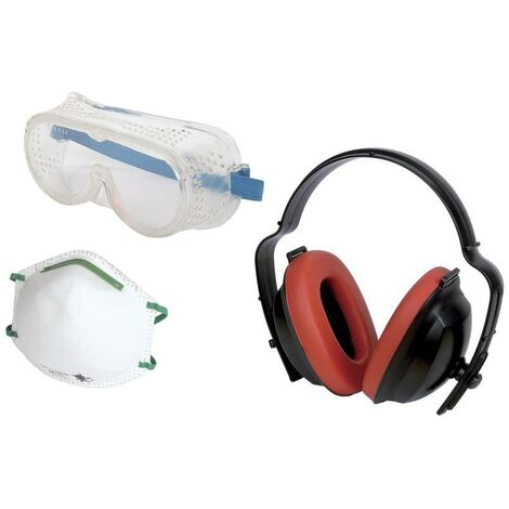 Casque antibruit passif Wolfcraft 1 Work safety kit 4871000 1 pc(s)