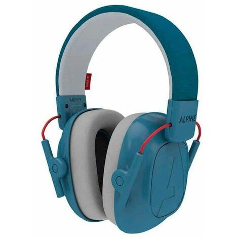 Casque antibruit pour Enfant Alpine Muffy Bleu - 25db - Bleu