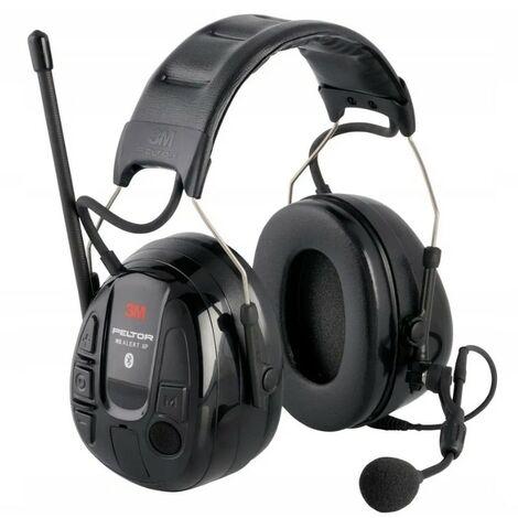 Casque antibruit WS Alert XP, Parler et écouter, 29dB - noir
