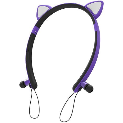 Casque Bluetooth Sans Fil, Avec / Micro, Violet