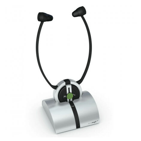 Casque Bluetooth Sonumaxx pour TV, Humantechnik, Version Stéthoscopique - Gris
