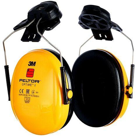 Casque coquille jaune antibruit confortable 3M Peltor Optime I 27 dB