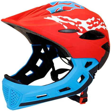 Casque De Bicyclette D'Enfant Peut Etre Ajuste Detachable, Bleu