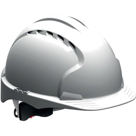 Casque de chantier EVO3 réglage a vis EN 397, blanc