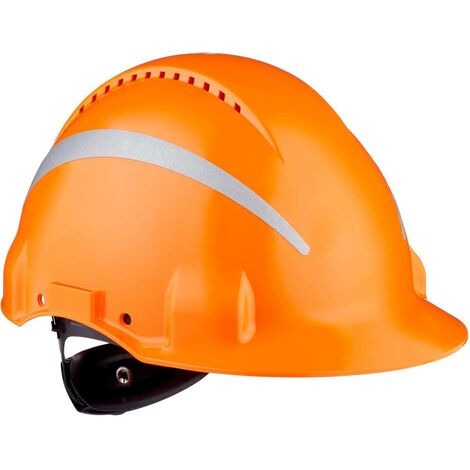 Casque de protection 3M G3000 Reflex G30NUOR orange 1 pc(s)