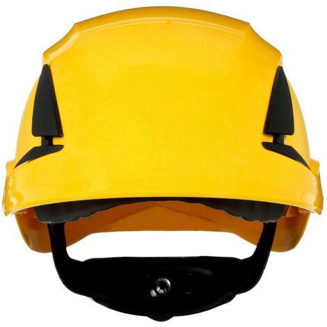 Casque de protection 3M SecureFit X5502NVE-CE-4 avec capteur UV jaune EN 397 1 pc(s) Q106902