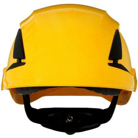 Casque de protection 3M SecureFit X5502V-CE-4 avec aération, avec capteur UV jaune EN 397 1 pc(s) Q106992