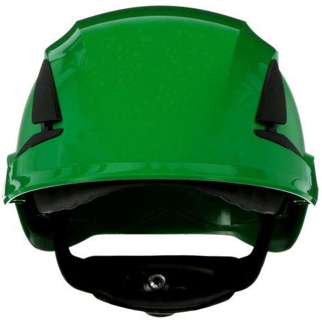 Casque de protection 3M SecureFit X5504NVE-CE-4 avec capteur UV vert EN 397 1 pc(s) Q106592