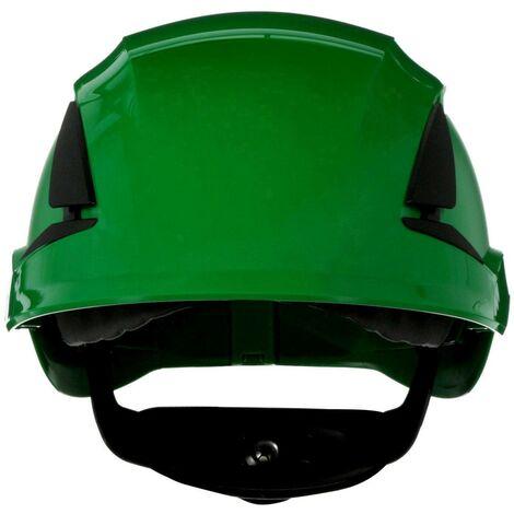 Casque de protection 3M SecureFit X5504V-CE-4 avec aération, avec capteur UV vert EN 397 1 pc(s) Q106922