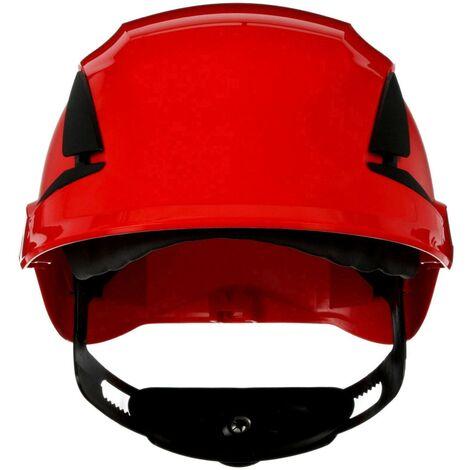 Casque de protection 3M SecureFit X5505V-CE-4 avec aération, avec capteur UV rouge EN 397 1 pc(s) Q106912