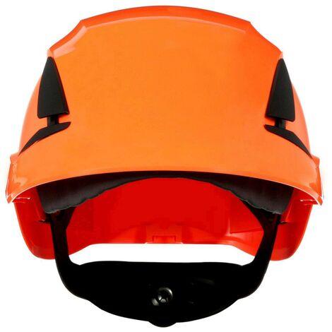 Casque de protection 3M SecureFit X5507NVE-CE-4 avec capteur UV orange EN 397 1 pc(s) Q106522