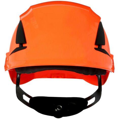 Casque de protection 3M SecureFit X5507V-CE-4 avec aération, avec capteur UV orange EN 397 1 pc(s) Q106932