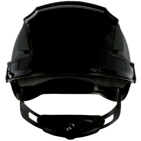 Casque de protection 3M SecureFit X5512V-CE-4 avec aération, avec capteur UV noir EN 397 1 pc(s) Q106982