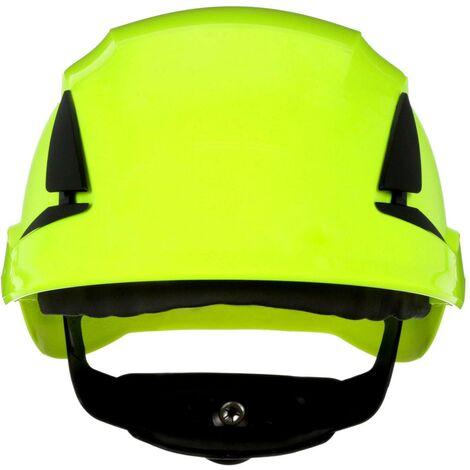 Casque de protection 3M SecureFit X5514NVE-CE-4 avec capteur UV vert fluorescent EN 397 1 pc(s) Q106532