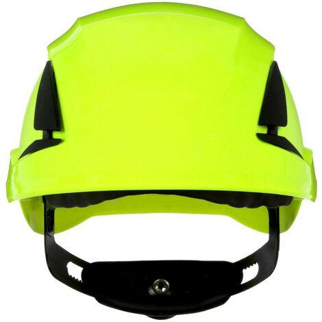 Casque de protection 3M SecureFit X5514V-CE-4 avec aération, avec capteur UV vert fluorescent EN 397 1 pc(s) Q106942